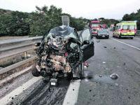 Auto contro moto, perde la vita centauro 42enne di Santo Stefano
