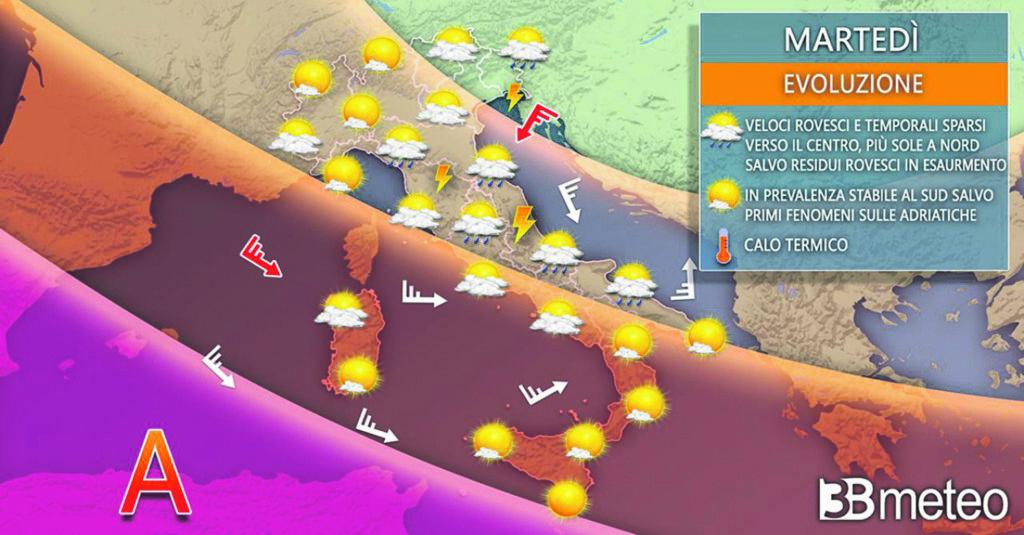 Dopo due mesi arriva la tregua, il caldo africano lascia il Molise