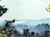 Cercemaggiore, in fumo diversi ettari di vegetazione a Capoiaccio