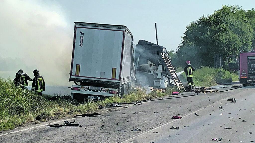 Tragedia al Nord, camionista di Trivento muore carbonizzato