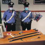 Venafro, banda di ladri in fuga braccata dai Carabinieri: sequestrati Fiat Brava e arnesi da scasso