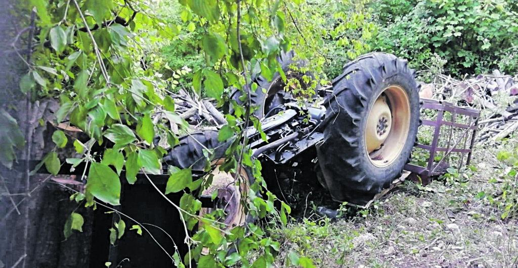 Tragedia a Montaquila, agricoltore muore schiacciato dal trattore