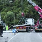 Mezzo pesante perde il carico, traffico in tilt sulla Statale Casilina